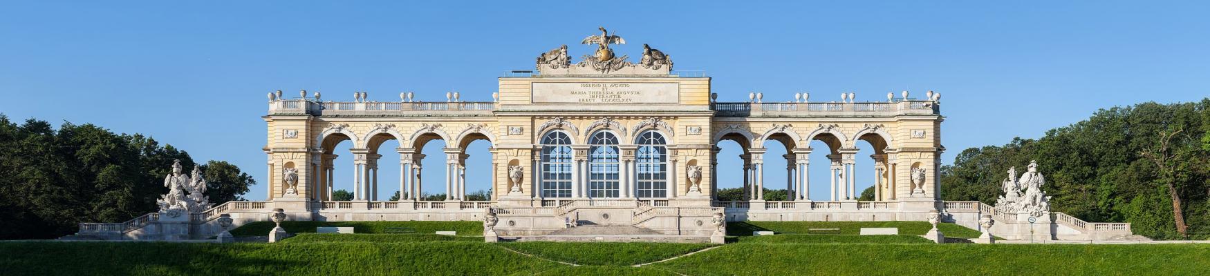 Gloriette Schoenbrunn Wien Zuschnitt
