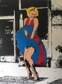 Homage SAK Marilyn goes Dirndl